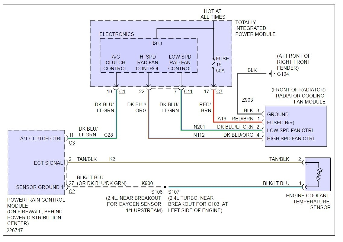 hight resolution of pt cooling fan wiring harness wiring diagram meta pt cooling fan wiring harness