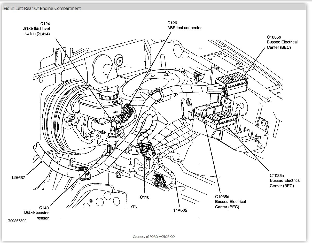 2005 Ford Freestyle Fuse Diagram 2005 Ford Freestyle