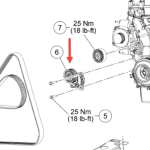 Serpentine Belt Diagram I Have Looked All Over And Can Not Find A