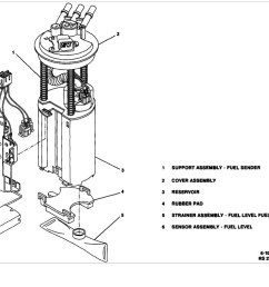 fuel pump location where is fuel pump for 1994 cadillac seville cadillac fuel pressure diagram [ 1012 x 910 Pixel ]