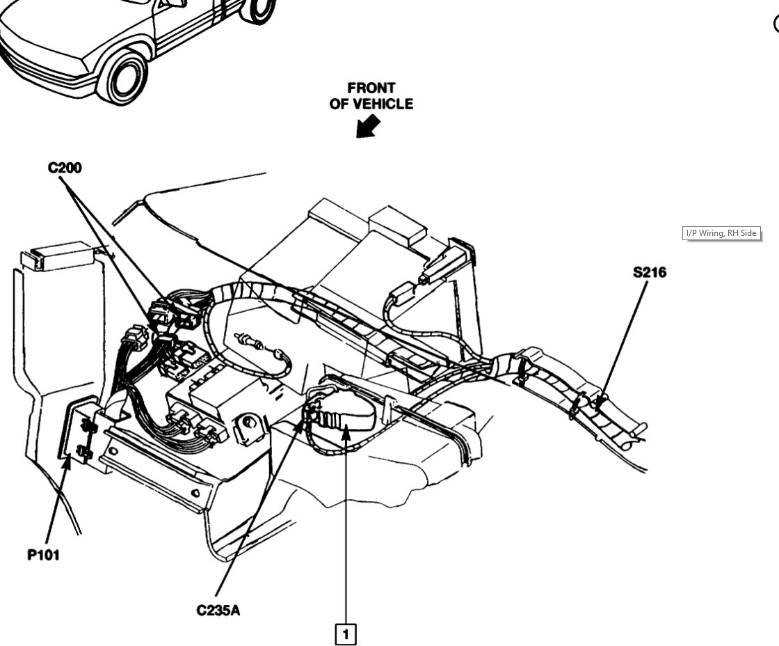 Service manual [1994 Mitsubishi Truck Blend Door Removal