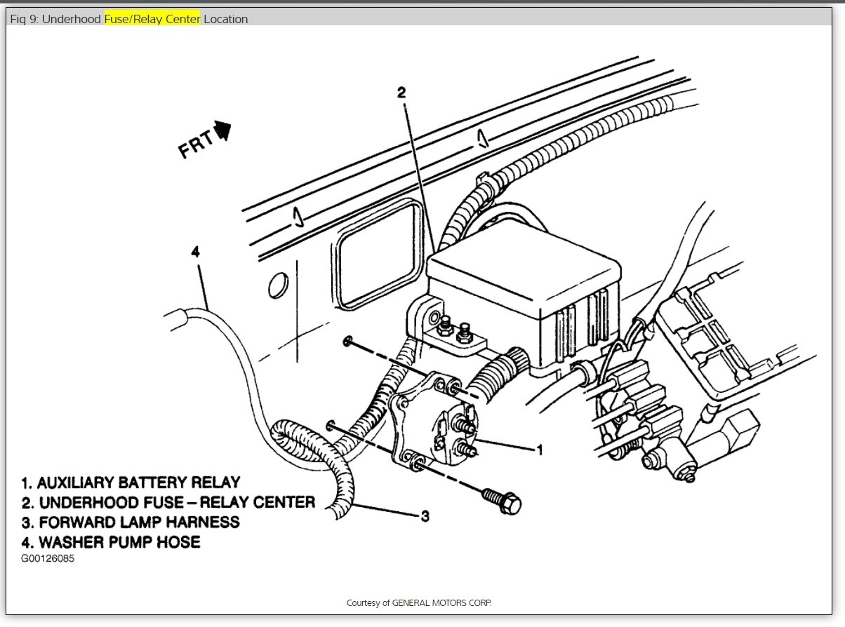 1992 Chevy G20 Van Wiring Diagram