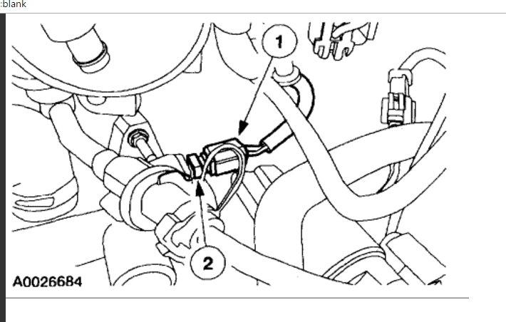 Coolant Temp Sensor Location: Engine Cooling Problem 6 Cyl