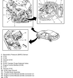 cadillac cts where is the ecm located in 2005 cadillac cts and thumb cadillac cts 04 fuse box  [ 810 x 980 Pixel ]