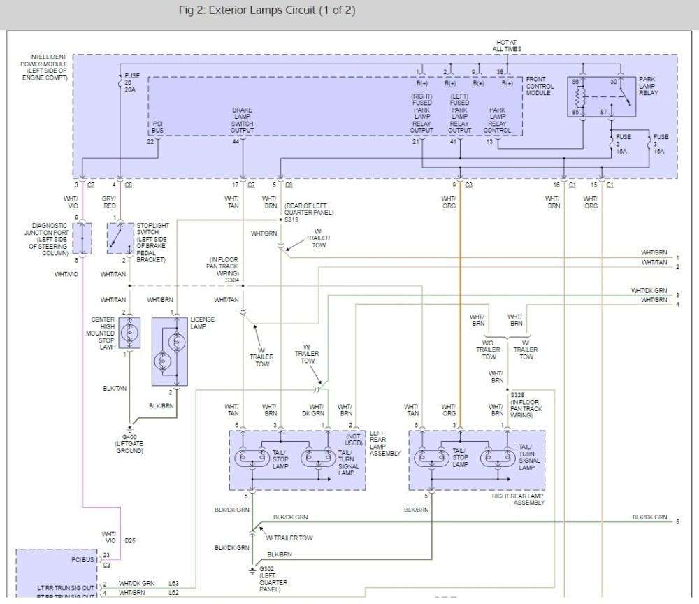 medium resolution of turn signal and hazard lights don u0027t work at all2001 caravan wiring diagram hazard