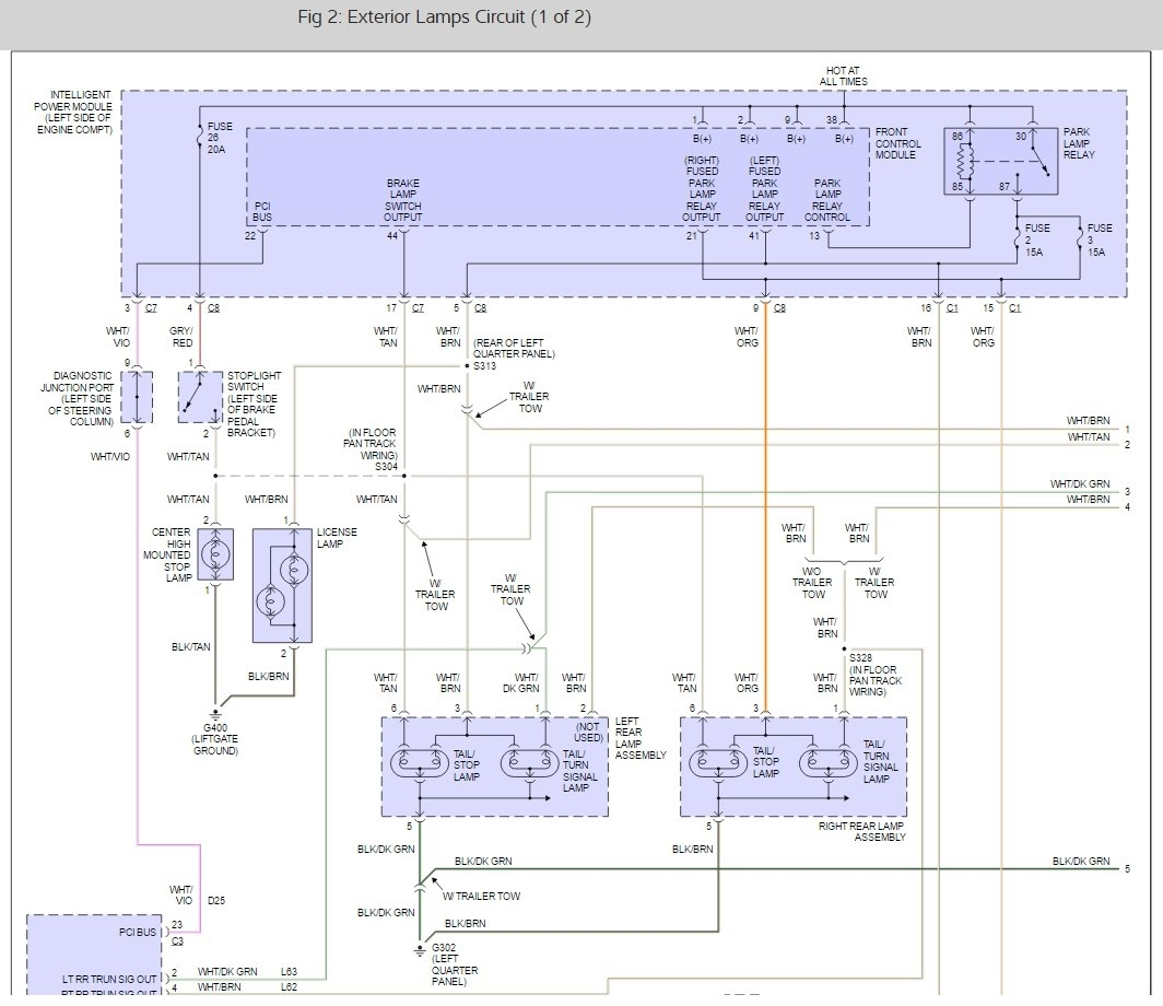 hight resolution of turn signal and hazard lights don u0027t work at all2001 caravan wiring diagram hazard