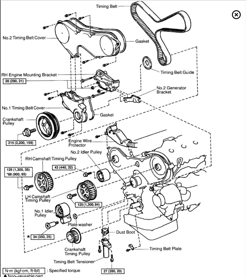 Disasembly 2000 Lexus Gs300 Engine Diagram. Lexus. Auto