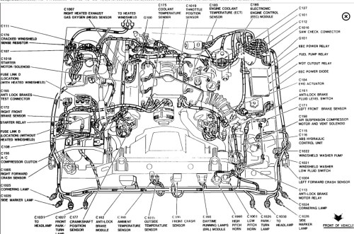 small resolution of 2001 lincoln town car engine diagram wiring diagram inside lincoln wiring diagrams online 2001 lincoln continental