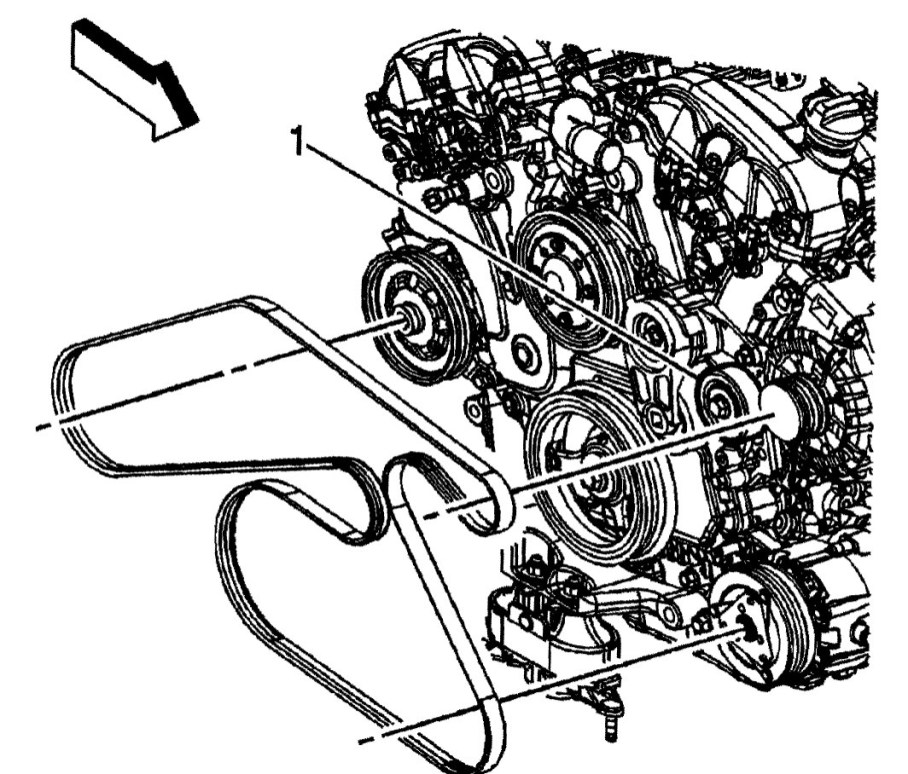 2012 Buick Enclave 36 Belt Diagram