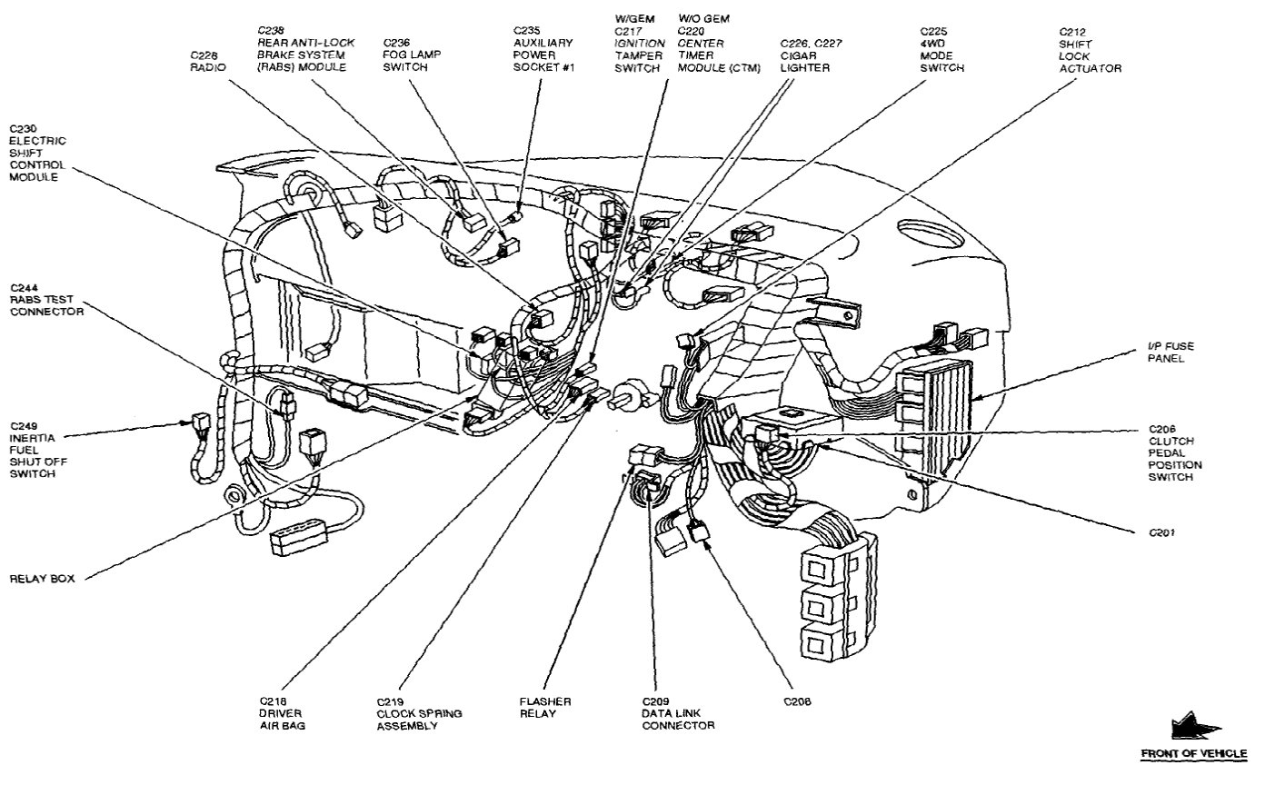 Ford Explorer Fuse Ford Wiring Diagram Images