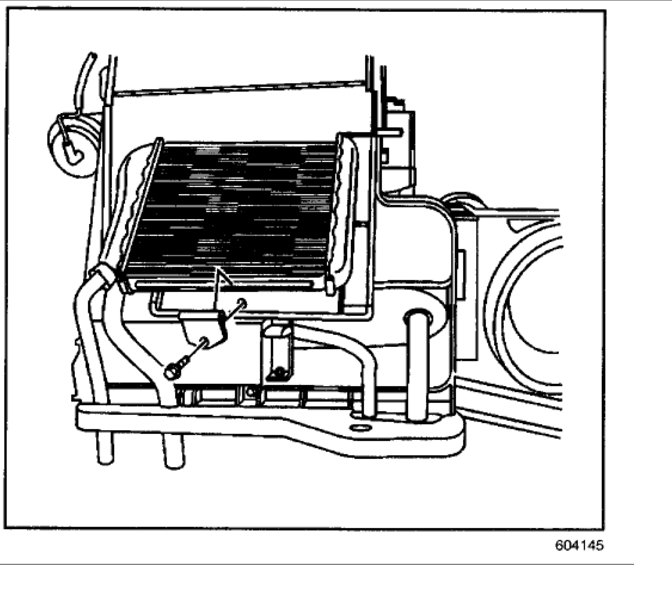 Heater Core Replacement: Heater Problem 4 Cyl Front Wheel