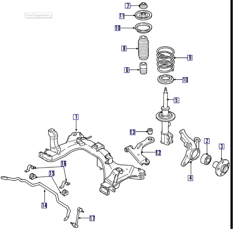 ford ka front suspension diagram wiring lights rattling clunking noise in end this is driving us thumb