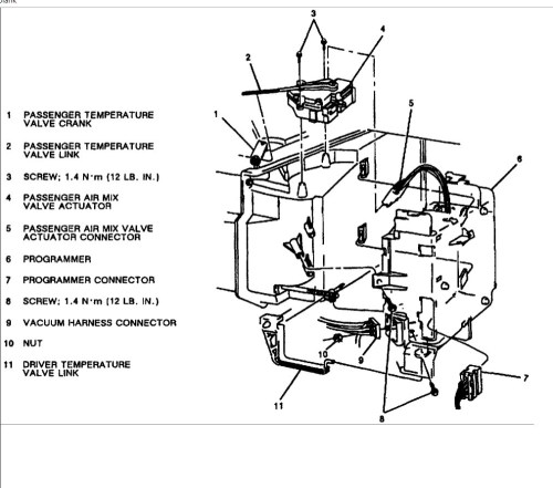 small resolution of 98 lesabre heater wiring diagram