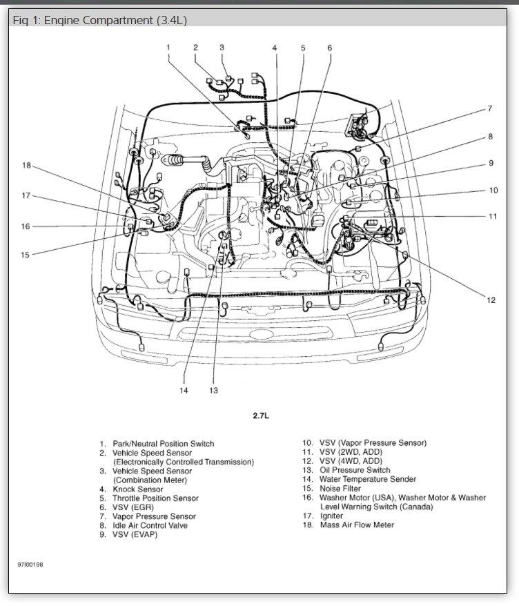 diagram of knock sensor