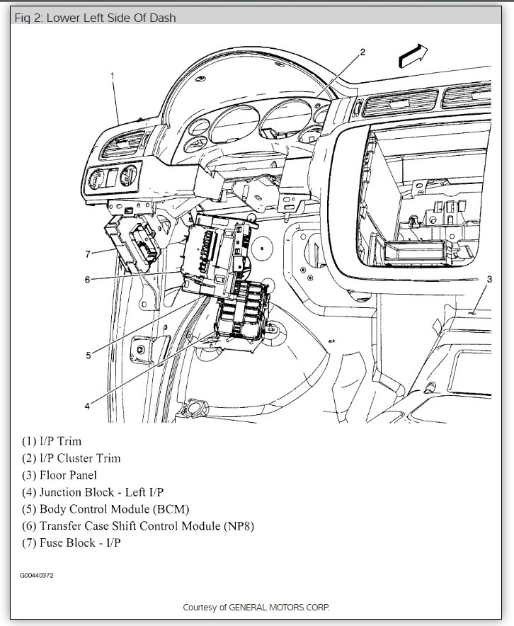 2009 Chevy Avalanche Body Controll Module Wiring Diagram