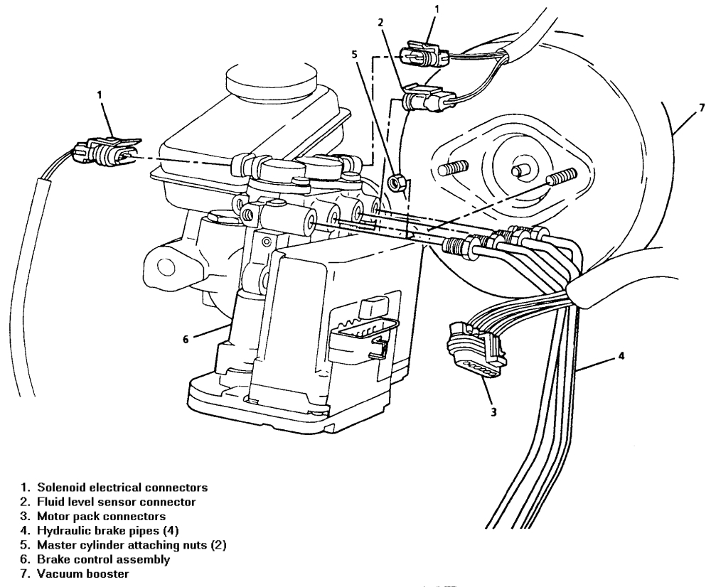 Back Brake Lines Routing: the Rear Brake Lines on My