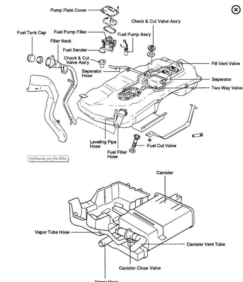 2007 f150 fuel filter location