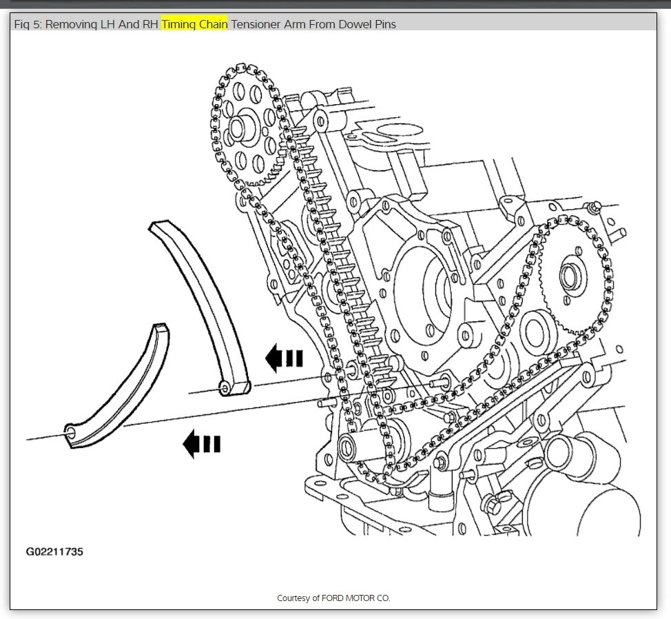 Timing Chain Marks: I Need to Know Correct Timing Chain