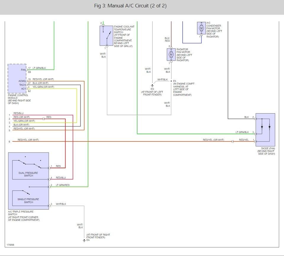 medium resolution of light on but compressor is not engaging rav4 ac diagram