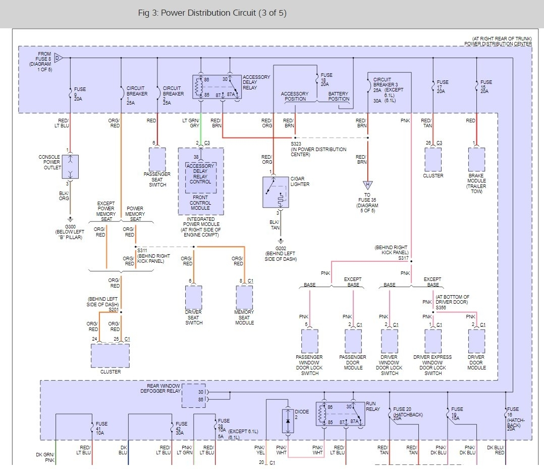 hight resolution of 2006 chrysler 300 fuse box manual