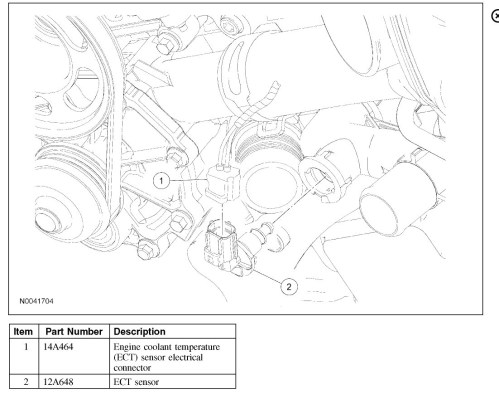 small resolution of coolant temperature sensor location need to know where