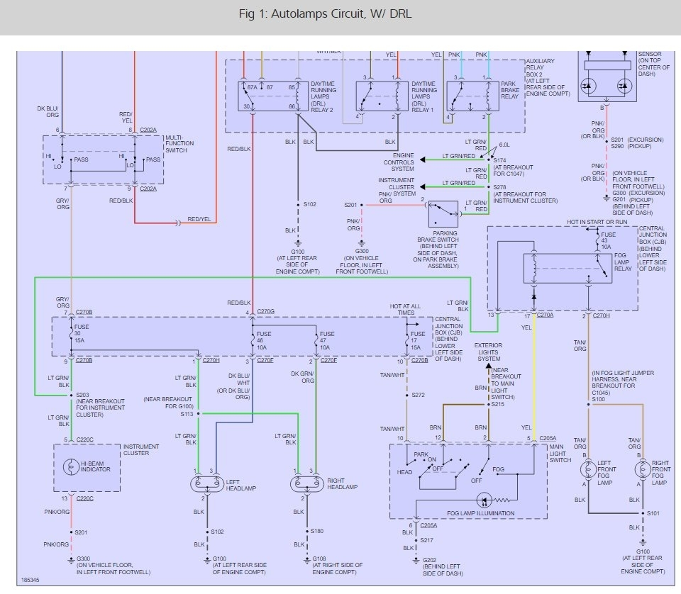 99 f250 headlight wiring diagram engineering flow headlights not working please help will come on thumb