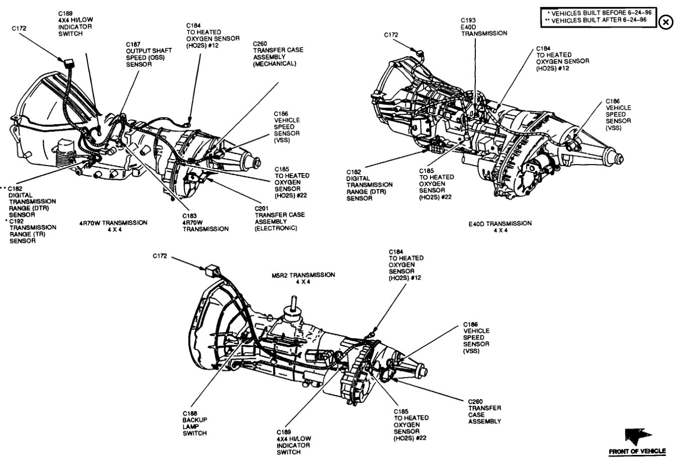 Ford F 150 Output Speed Sensor Location