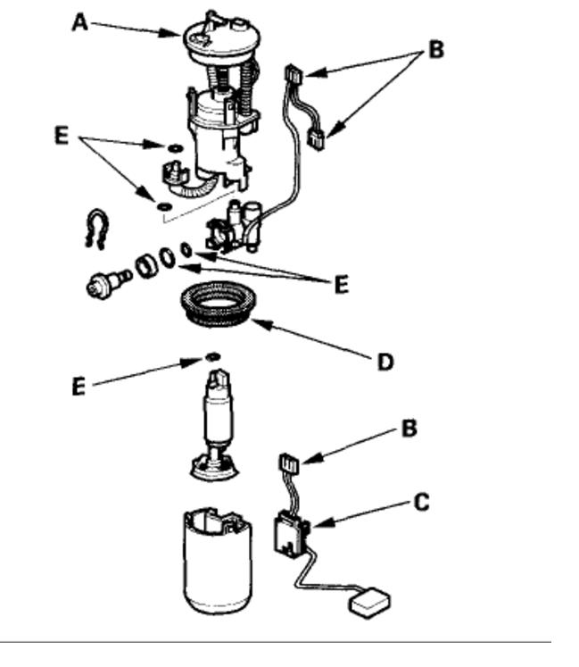 2003 Honda Element Stereo Wiring Diagram / Obd1 Honda
