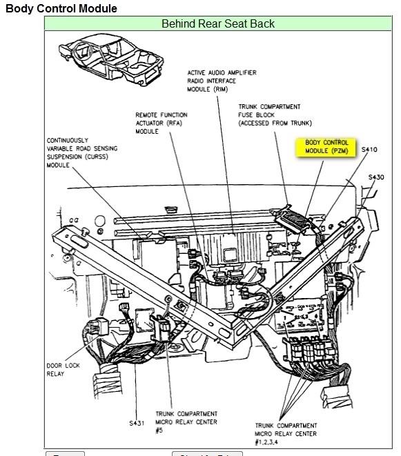 1997 Cadillac Deville: Electrical Problem 1997 Cadillac