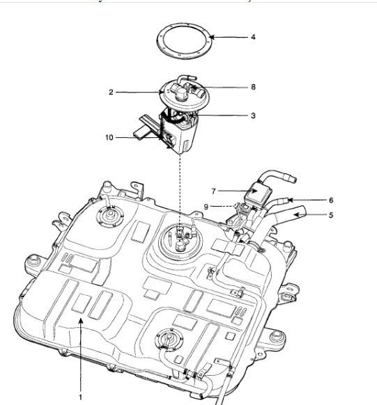 Dodge Caliber Fuel Filter Location