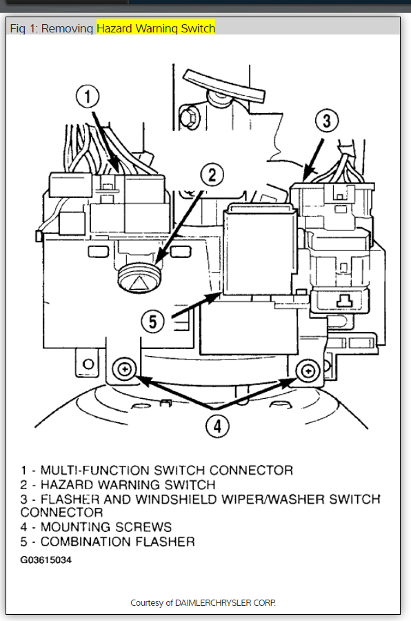 Turn Signal Relay Location: Electrical Problem 6 Cyl 56000