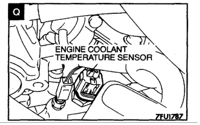 Oxygen Sensor Location?: Engine Performance Problem 6 Cyl