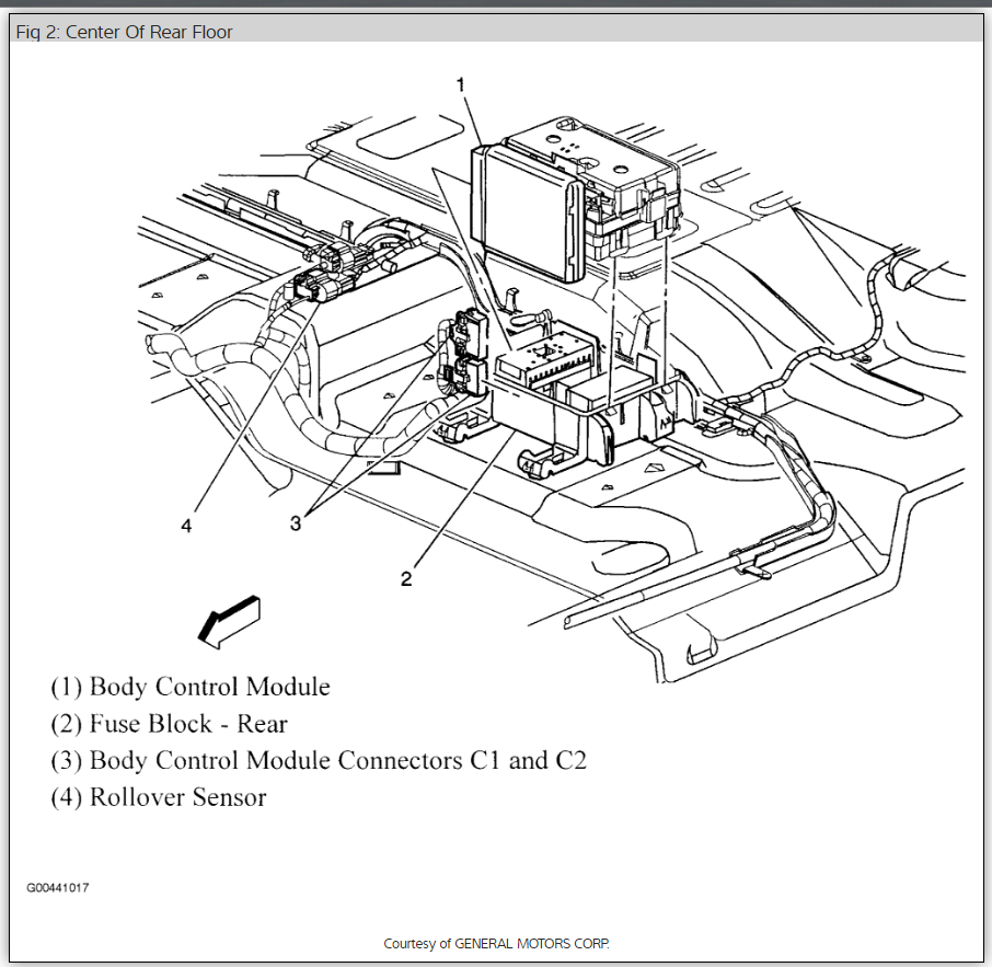 under seat fuse box diagram 2006 chevy trailblazer auto. Black Bedroom Furniture Sets. Home Design Ideas