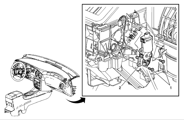 Heat and Air: No Air Coming Out of Instrument Panel.