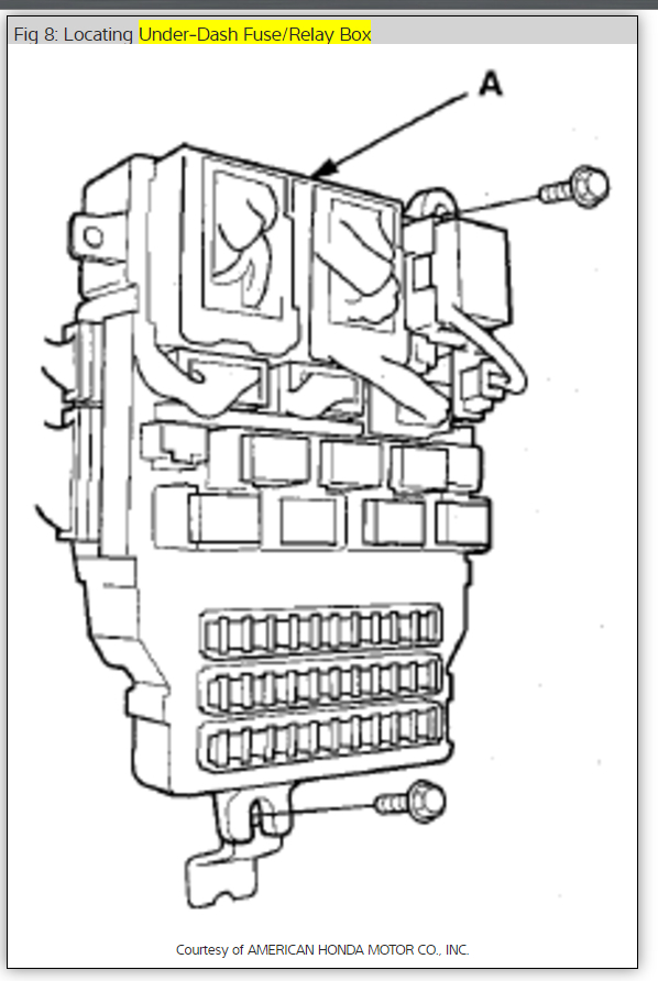 Relay Stuck In Fuse Box : 23 Wiring Diagram Images