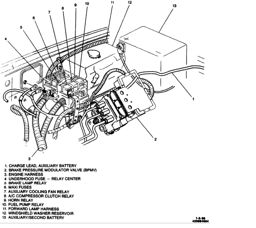 Wiring Diagram 93 K3500 Lighting Meaning Drl : 44 Wiring