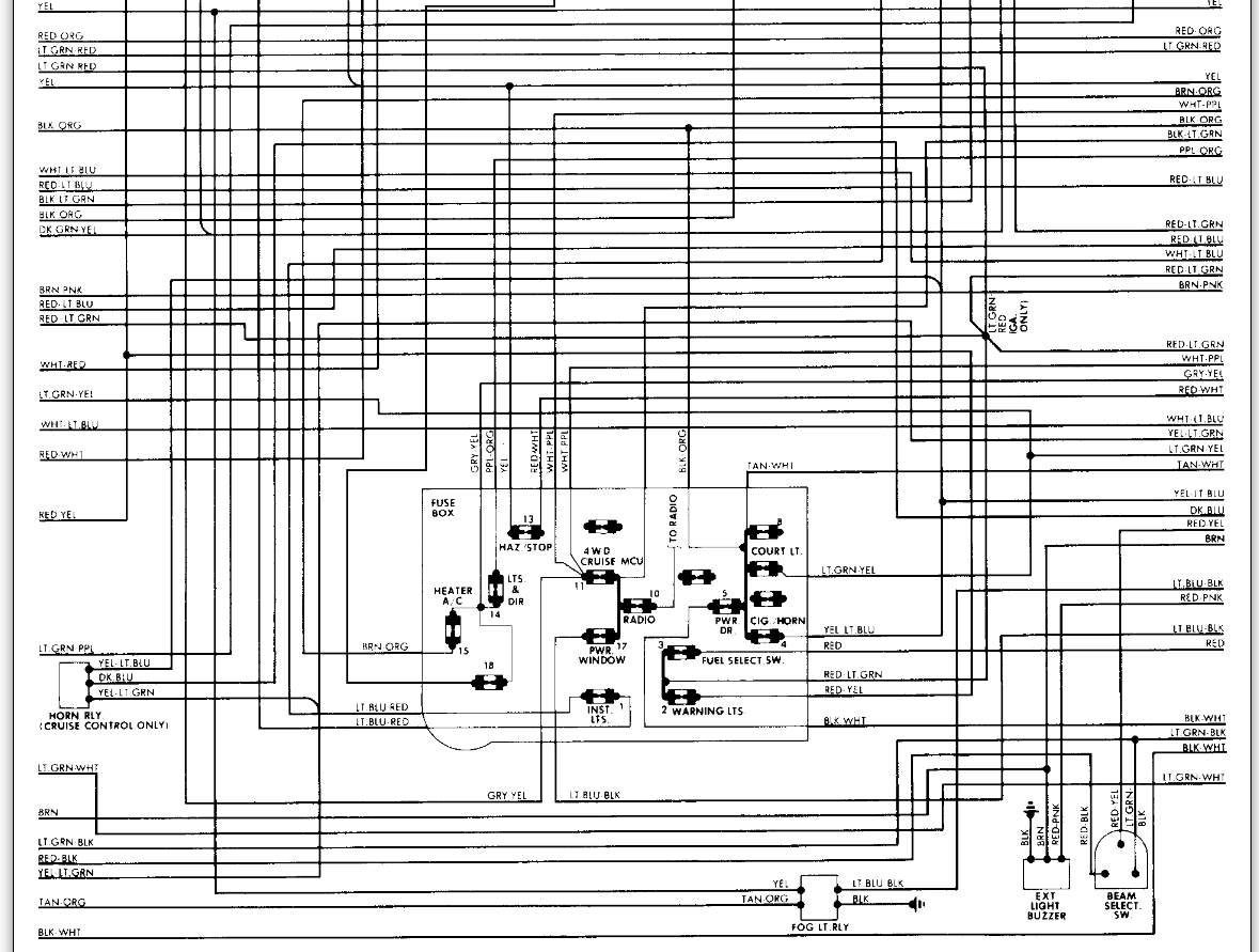 1983 ford f150 wiring diagram how to draw electrical diagrams headlight switch problem after