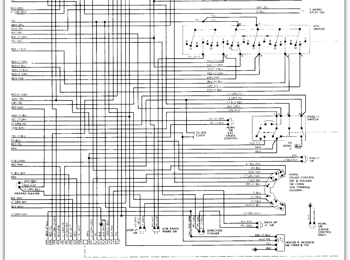 1983 ford f150 wiring diagram 2005 nissan altima headlight switch diagrams electrical problem after