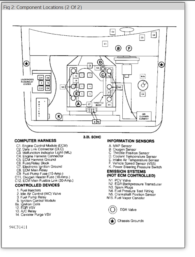 Compueter Pin Wiring Diagram 2000 Isuzu Rodeo. Isuzu. Auto