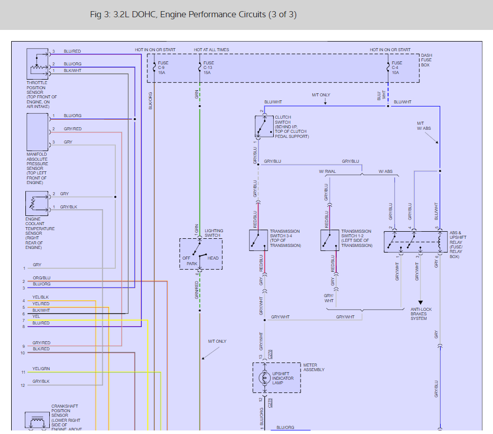 hight resolution of engine is not starting i have a 1994 isuzu rodeo with the 3 2l v6 thumb rodeo 2001 engine diagram
