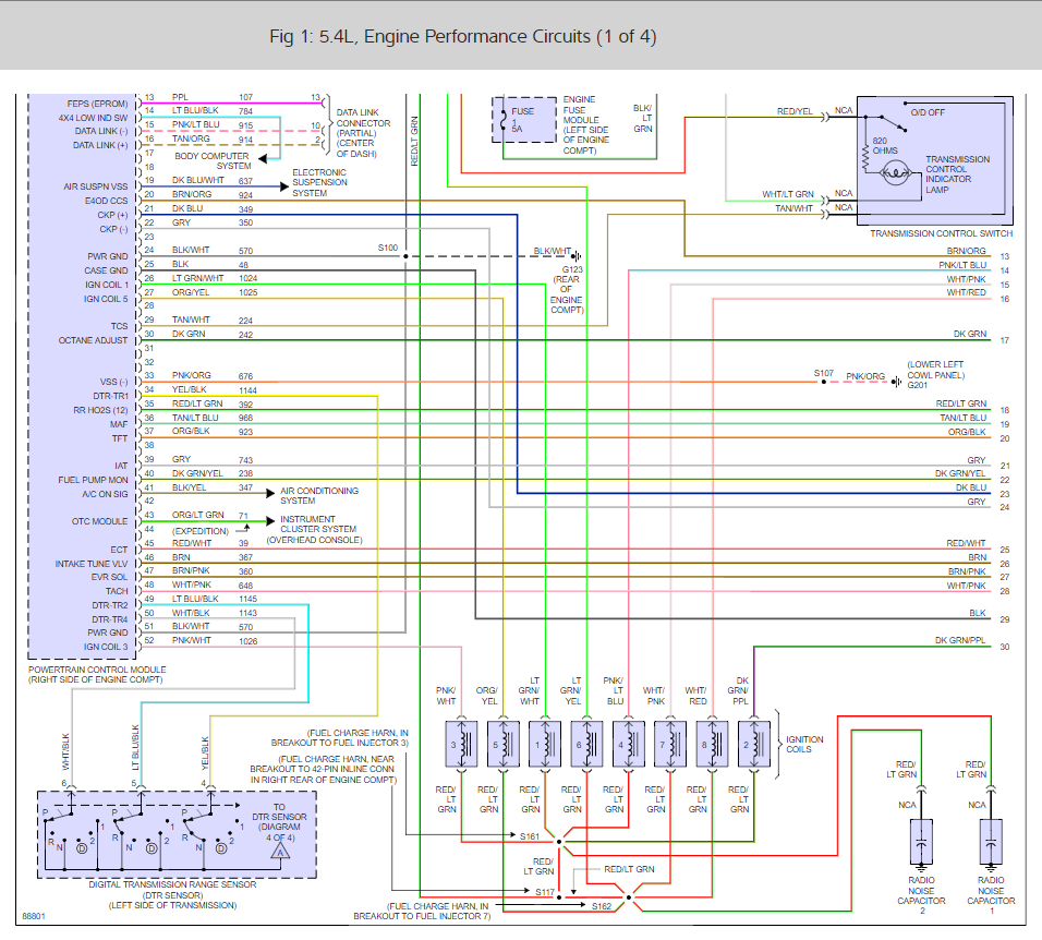 medium resolution of blown pcm fuse i have a 1997 ford f 150 with 132 000 miles 4 2l 97 f150 pcm fuse wiring diagram ford
