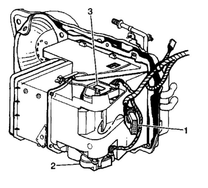 2003 Buick Lesabre Air Suspension Pressor Location