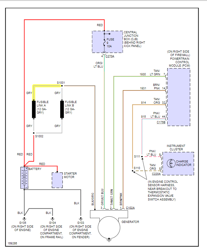 2011 Ford Fusion Abs Wiring Diagrams Check Charging System Light Somebody Else Asked This