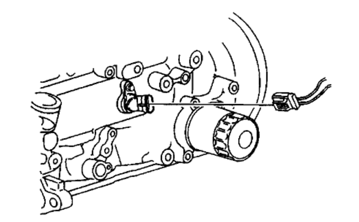 Crank and Camshaft Position Sensors: Four Cylinder Two
