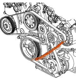 serpentine belt to bypass a c i would like to know if there is a 2005 buick rainier belt diagram [ 1375 x 1239 Pixel ]