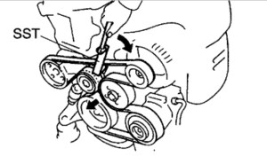 Toyota Camry Belt Diagram: How to Replace Belt on 2002