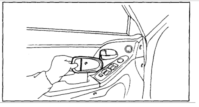 Replace Door Handle Cable to Latch: Interior Problem 4 Cyl