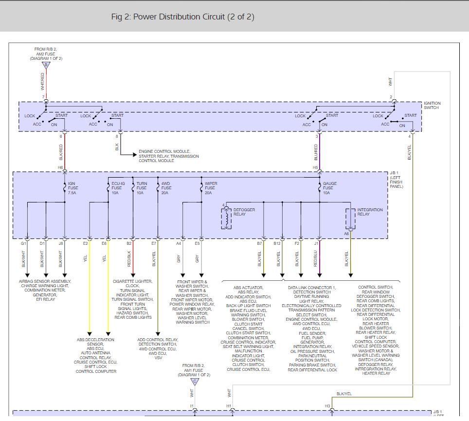 medium resolution of wrg 5624 2000 toyota 4runner fuse box diagram1997 4runner fuse box 18