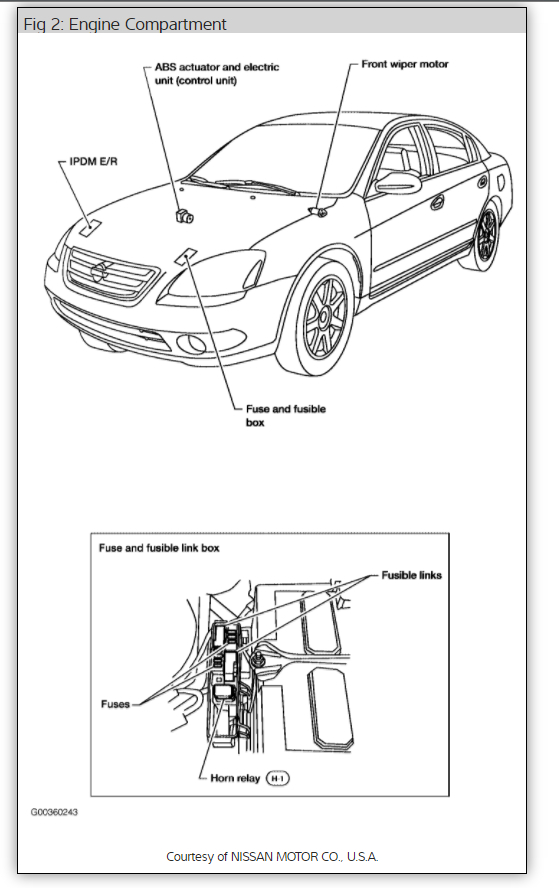 headlight wiring diagram for nissan altima