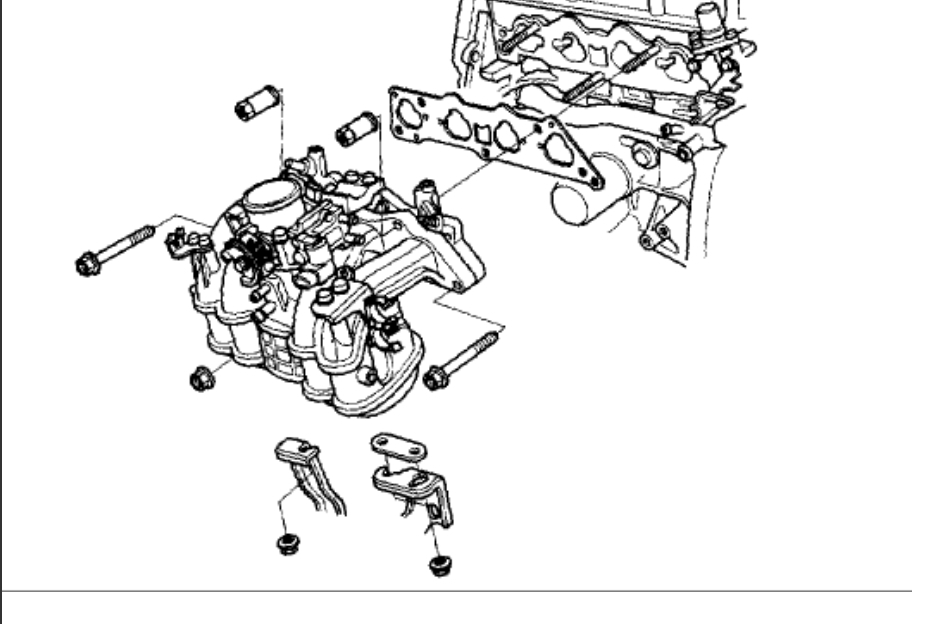 Head Gasket-head Bolts Torque Specs: Four Cylinder Front